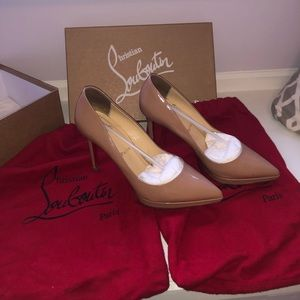 Authentic Christian louboutin Pigalle Plato 100 mm